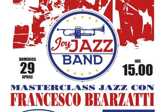 Masterclass con Francesco Bearzatti e Concerto Joy Jazz Band