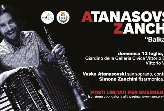 "Atanasovski & Zanchini ""Balkan Duo"" in concerto!"