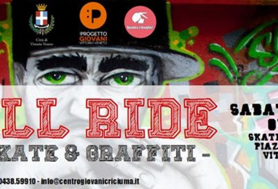 Wall Ride - Free Skate & Graffiti