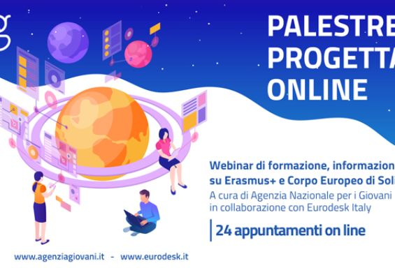 Palestre di progettazione online ANG-Eurodesk Italy